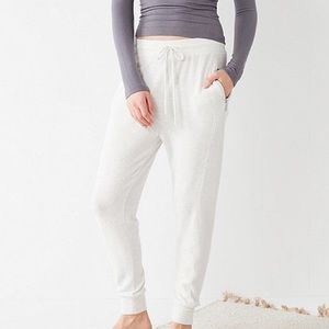 Out From Under Heidi Mixed Fabric Jogger Pant